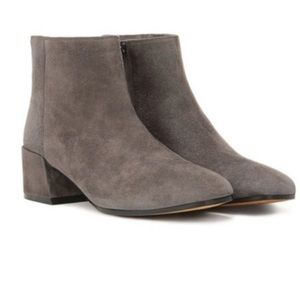 Vince Ostend Goatskin Leather Bootie